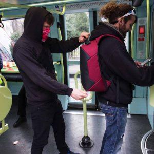 Sac à dos anti-pickpocket